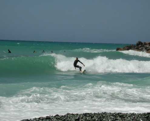 Surfing Levanto